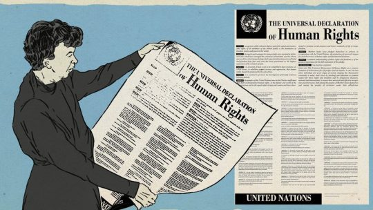 Sejarah Deklarasi Pada HAM Universal Di Negara Barat Maupun Timur